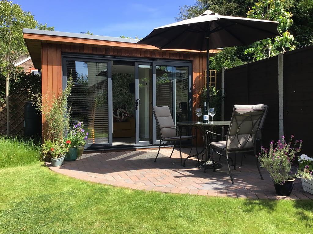 garden room - cube